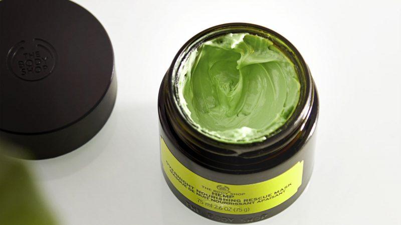 Mới! Dành cho phái nữ: Mặt nạ và sữa tắm Hemp chiết xuất từ tinh dầu hạt gai dầu