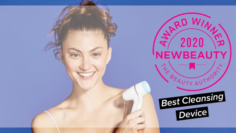 """Thiết bị rửa mặt & Chăm sóc da chuyên sâu ageLOC LumiSpa được NewBeauty công nhận là """"Thiết Bị Làm Sạch Tốt Nhất 2020"""""""