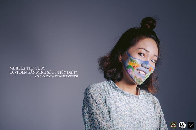 """Khởi động chiến dịch """"LoveYouBody – Face2Covid – Đối Mặt Covid"""" – #VitaminsFaceMask"""