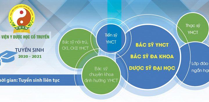 Học viện Y- Dược học cổ truyền Việt Nam thông báo tuyển dụng viên chức năm 2020