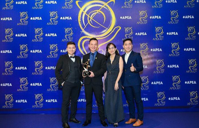 Oriflame Việt Nam nhận giải thưởng Thương hiệu Truyền cảm hứng APEA 2020