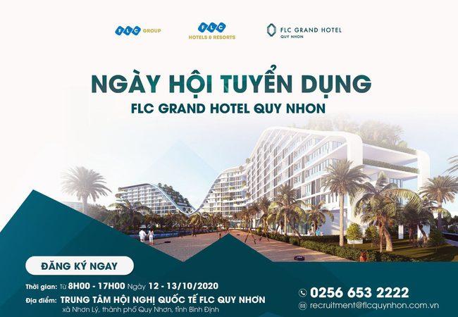 """""""Ngày hội Tuyển dụng"""" FLC Grand Hotel Quy Nhơn"""