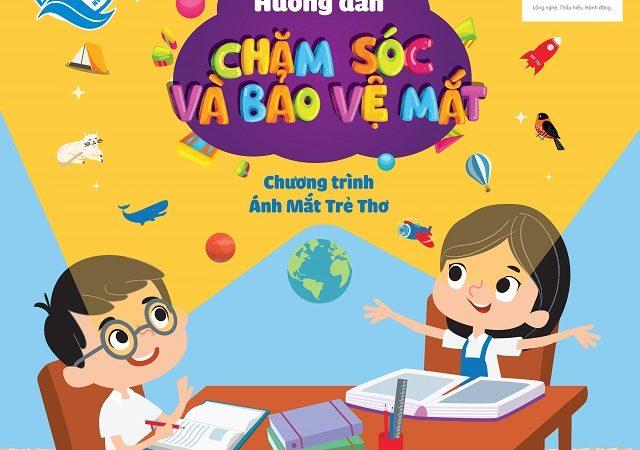 """Quỹ """"Ánh mắt trẻ thơ"""" của Prudential và Quỹ Bảo trợ Trẻ em Việt Nam chăm sóc mắt cho hàng ngàn học sinh tiểu học"""