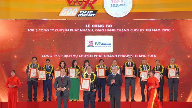 Phương Trang được vinh danh Top 5 công ty uy tín ngành vận tải và Logistic