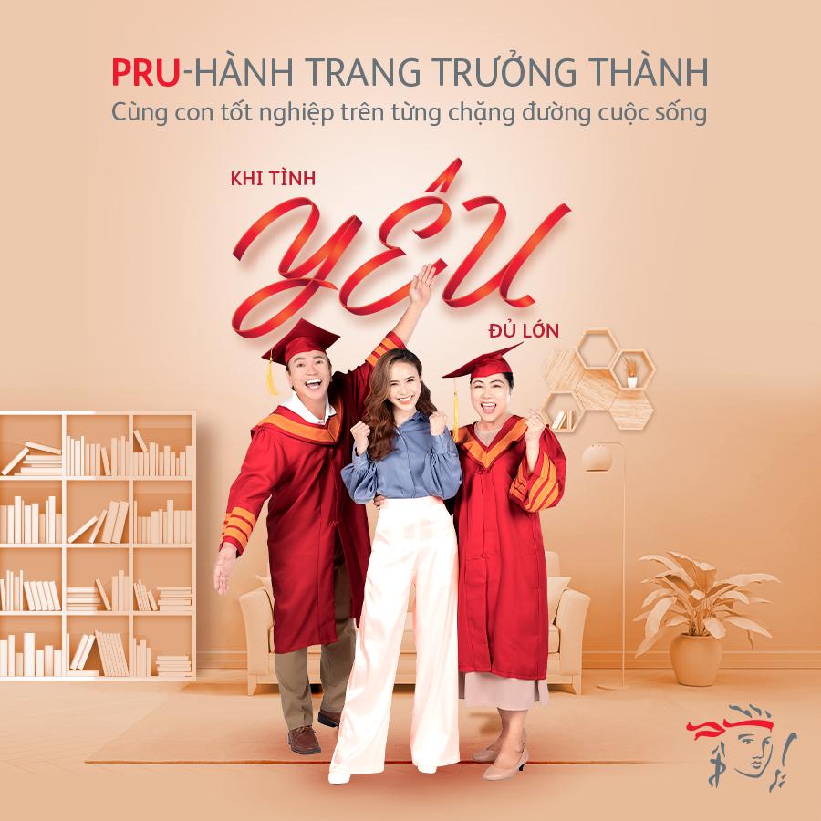 """Prudential Việt Nam ra mắt """"PRU–Hành Trang Trưởng Thành"""""""