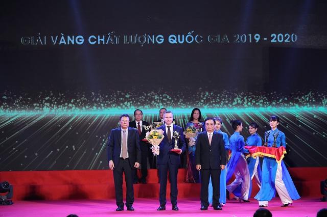 Nestlé Việt Nam nhận Giải Vàng Chất Lượng Quốc Gia 2020 ngay trong năm đầu tiên tham dự