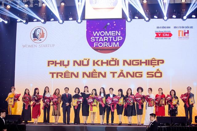 """""""Diễn Đàn Phụ Nữ Khởi Nghiệp Trên Nền Tảng Số"""" và Lễ công bố gói đầu tư 420 tỷ vào Mạng lưới Phụ nữ khởi nghiệp WSUN thành công tốt đẹp"""