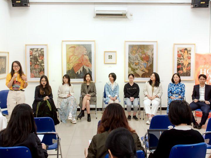 """Ký ức nên thơ, sống động của 8 họa sĩ trẻ tại triển lãm """"Hồi Hải Mã"""""""