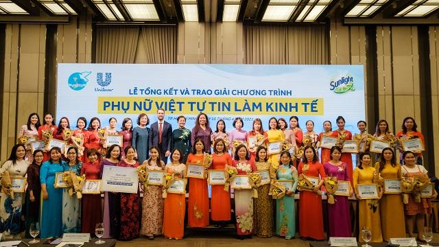 Unilever & Hội Liên hiệp Phụ nữ Việt Nam & Google tiếp tục ký hợp tác hỗ trợ 1 triệu phụ nữ Việt làm kinh tế đến năm 2025