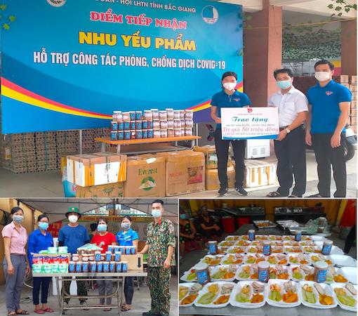 """Bình Phước: Thanh niên cùng người dân tự tay làm những món ăn khô, """"trợ lực"""" tâm dịch Bắc Giang"""