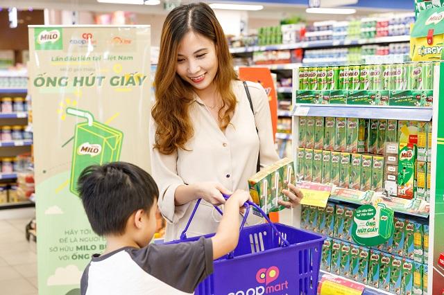 """Nestlé MILO tiên phong hưởng ứng chiến dịch """"Nói không với ống hút nhựa"""""""